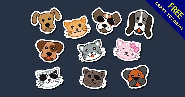 【狗q版】Q版推薦:34張可愛的小狗Q版圖下載