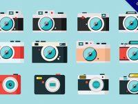 【相機卡通】素材推薦:38款可愛的相機卡通圖下載