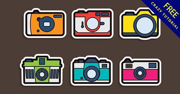 【相機卡通】素材推薦:24張精細的相機卡通圖下載