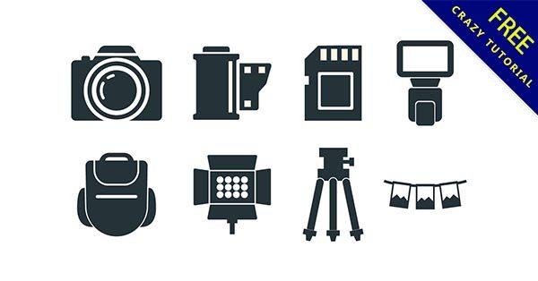 【相機圖示】圖示推薦:35套專業的相機icon圖示下載