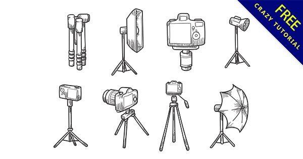 【相機手繪】手繪推薦:34款可愛的相機手繪圖案下載