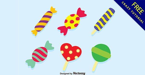【糖果卡通】素材推薦:39張可愛的糖果卡通圖下載