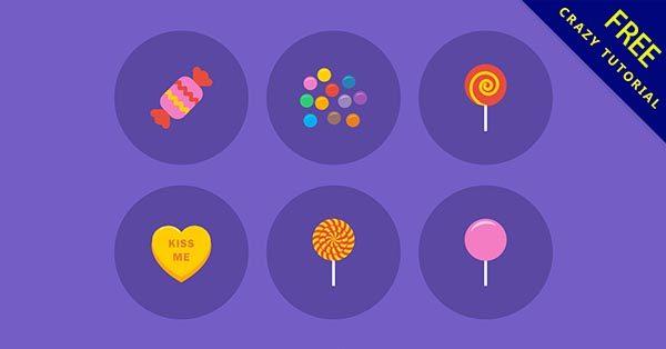 【糖果圖案】圖案推薦:23款有可愛的糖果圖案素材下載