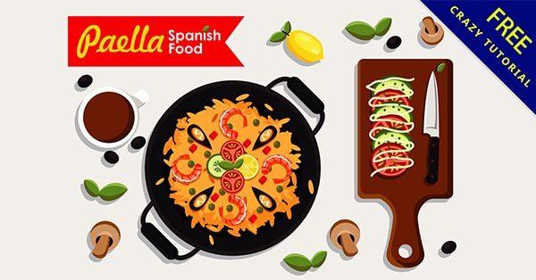 【美食素材】素材推薦:32張卡通的美食素材圖案下載