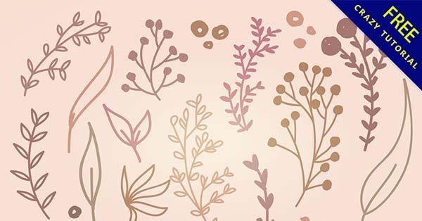 【葉子插畫】插畫推薦:36張手繪的葉子插畫素材下載