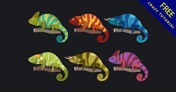 【蜥蜴卡通】素材推薦:16款可愛的蜥蜴卡通圖下載