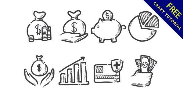 【錢圖案】圖案推薦:27款卡通的金錢圖案下載
