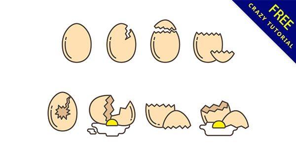 【雞蛋卡通】素材推薦:26款可愛的雞蛋卡通圖下載