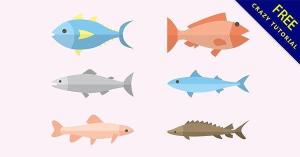 【魚插畫】插畫推薦:32張卡通的魚插畫圖案下載