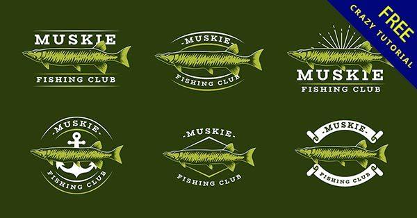 【魚 logo】編輯推薦:41款可愛的魚logo圖案下載