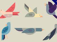【鳥圖案】免費推薦:27款可愛的鳥圖案素材下載