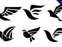 【鳥 logo】商標推薦:27款可愛的鳥 logo標誌下載