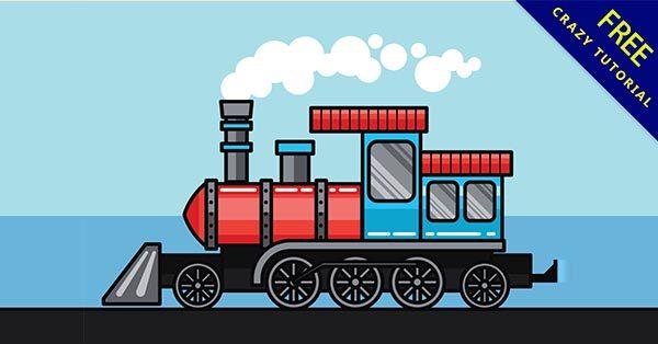 【q版火車】Q版推薦:19個可愛的q版火車圖案下載
