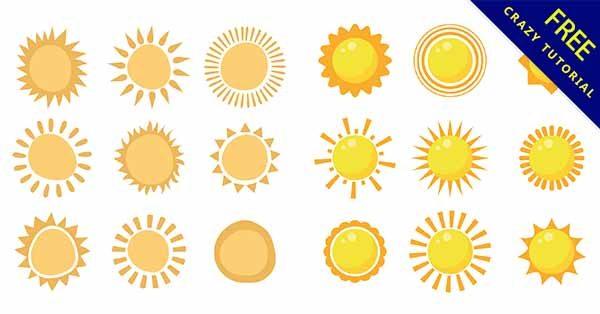 【卡通太陽】素材推薦:20款可愛的卡通太陽圖下載