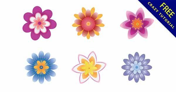 【卡通花朵】花朵推薦:17套可愛的卡通花朵圖下載