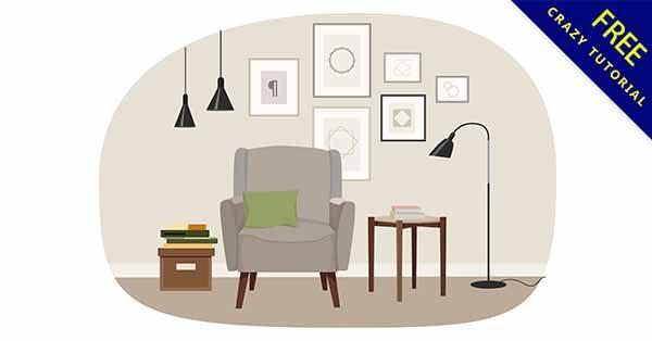 【客廳卡通】素材推薦:27款可愛的客廳卡通圖下載