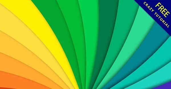 【彩虹背景】背景推薦:34個可愛的彩虹背景圖下載