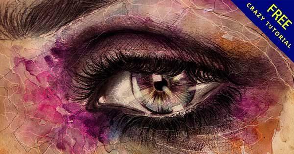 手繪眼睛畫法,24款素描的手繪眼睛作品推薦