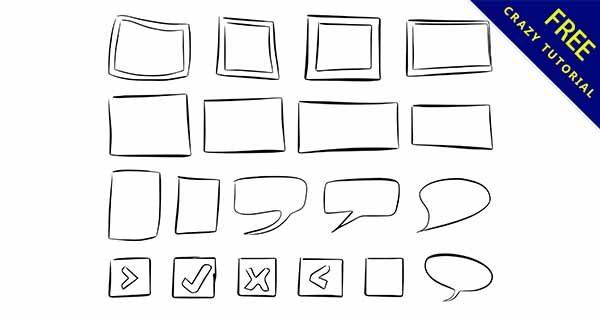 【手繪邊框】手繪推薦:29個可愛的手繪邊框圖下載