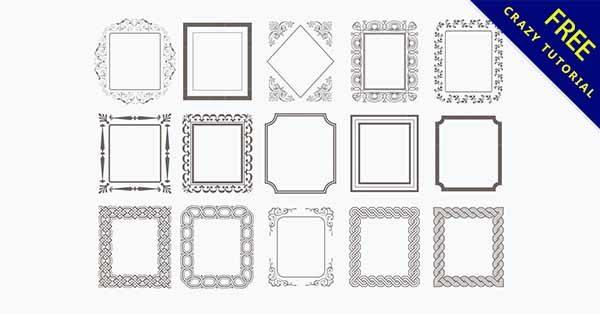 【簡約邊框】邊框推薦:30款唯美的簡約邊框素材下載