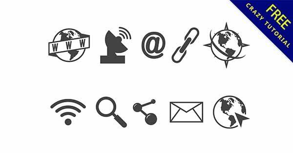 【網路icon】圖示推薦:32款漂亮的網路icon圖示下載