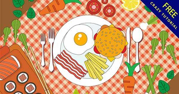 【美食插圖】插圖薦:24張超可愛的美食小插圖下載