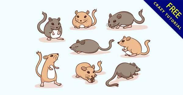 【老鼠圖片】圖片推薦:21個可愛的老鼠圖片素材下載