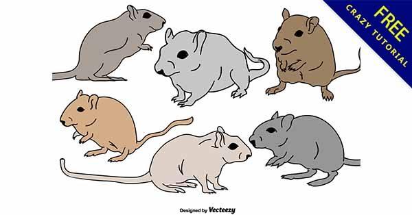 【老鼠插圖】插圖推薦:15套可愛的老鼠插圖素材下載