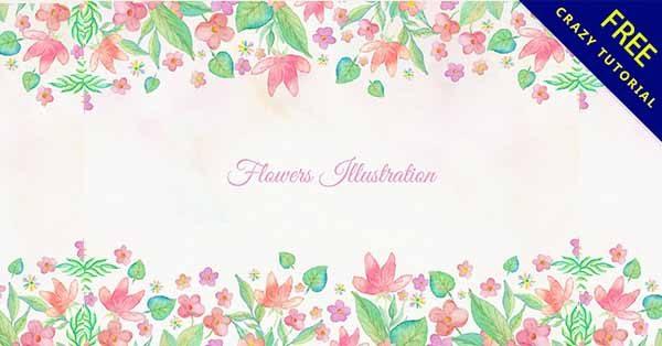 【花朵邊框】邊框推薦:30個可愛的花朵邊框圖下載