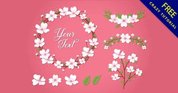 【花邊背景】邊框推薦:32張可愛的花邊框背景圖下載