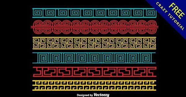 【邊框花紋】花紋推薦:22個復古的邊框花紋圖下載
