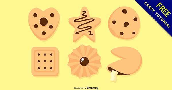 【餅乾卡通】嚴選推薦:33款可愛的餅乾卡通圖下載