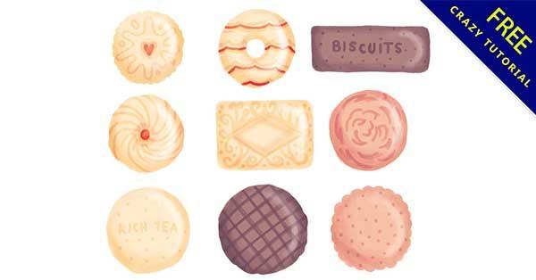 【餅乾圖案】圖案推薦:15個可愛的餅乾圖案素材下載