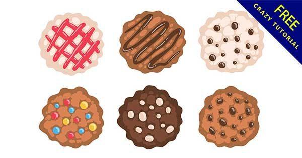 【餅乾素材】素材推薦:30個可愛的餅乾素材圖案下載