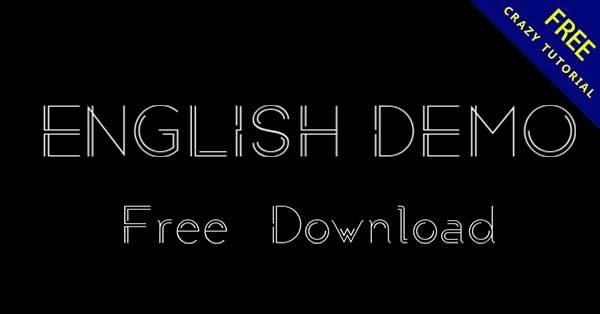 46款免費英文字樣下載,可線上文字預覽和下載