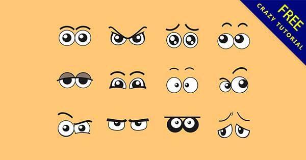 【q版眼睛】q版推薦:27款卡通的q版眼睛圖下載