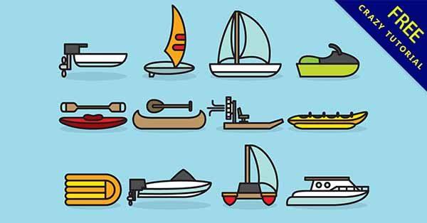 【q版船】q版推薦:28款可愛的q版船圖案下載
