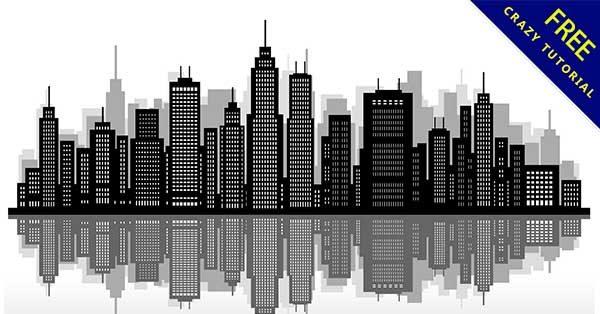 【城市剪影】剪影推薦:31款超美的城市剪影圖下載
