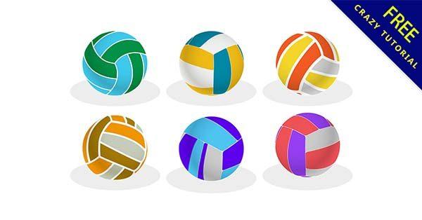【排球素材】素材推薦:24張可愛的排球素材圖下載