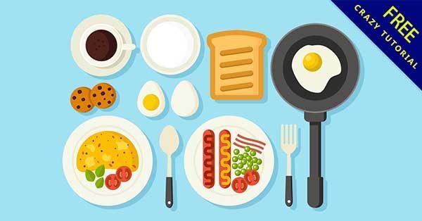 【早餐卡通】素材推薦:27款可愛的早餐卡通圖下載