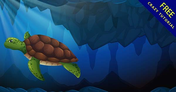【海龜圖案】圖案推薦:20套可愛的海龜圖案素材下載