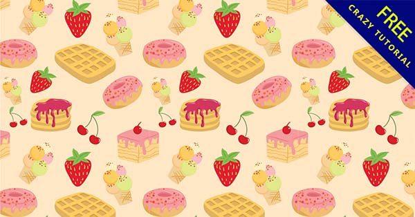 【甜點背景】背景推薦:57款卡通的甜點背景圖下載