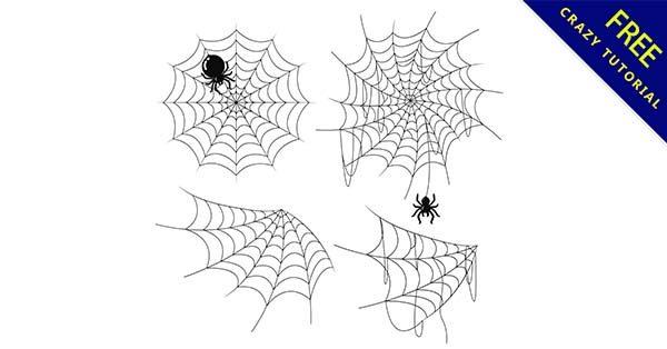 【蜘蛛網圖】素材推薦:21個卡通的蜘蛛網素材下載