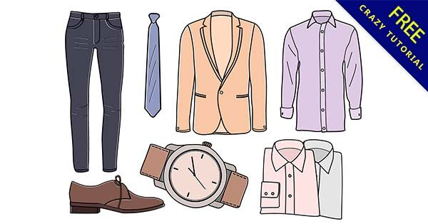 【衣服素材】素材推薦:30張卡通的衣服素材圖下載