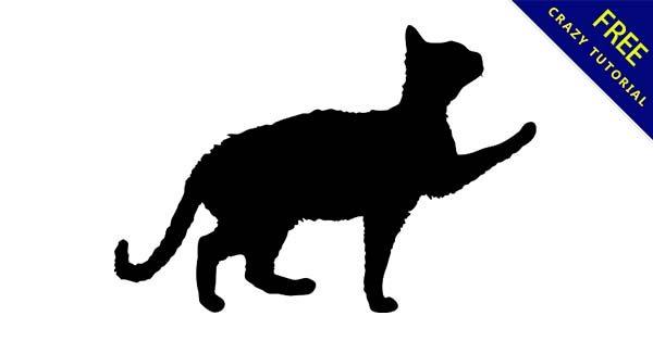 【貓剪影】剪影推薦:35套高質感的貓剪影圖下載