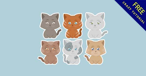 【貓q版】q版推薦:27個可愛的貓q版圖下載
