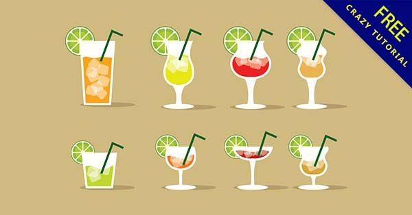 【飲料卡通】素材推薦:34套可愛的飲料卡通圖下載