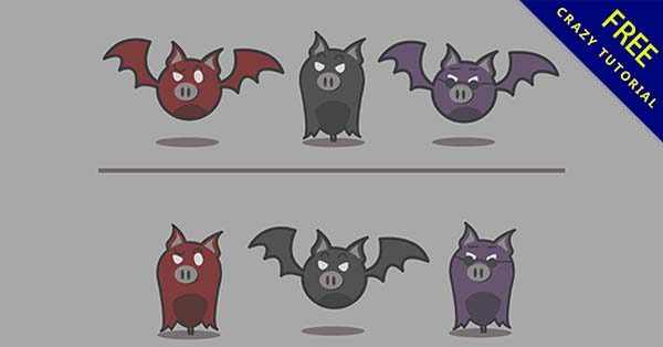 【q版蝙蝠】q版推薦:31張萬聖節的q版蝙蝠圖下載