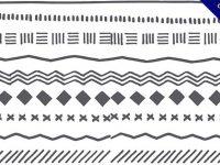 【分隔線】線條推薦:28張手繪的可愛分隔線下載