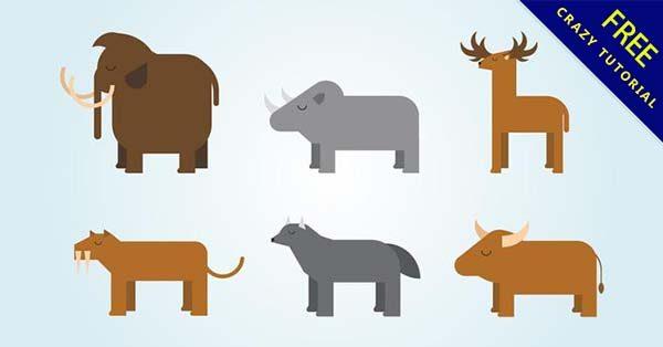 【動物素材】素材推薦:45個可愛的動物素材圖下載